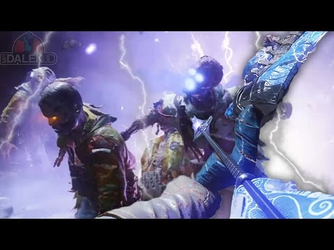 """Black Ops 3 ZOMBIES """"DER EISENDRACHE"""" - STORM UPGRADED BOW GUIDE! Wrath Of The Ancients Upgrade!"""