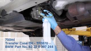 BMW X3 (E83) 2004-2010 Transfer Case Oil Change - DIY Repair