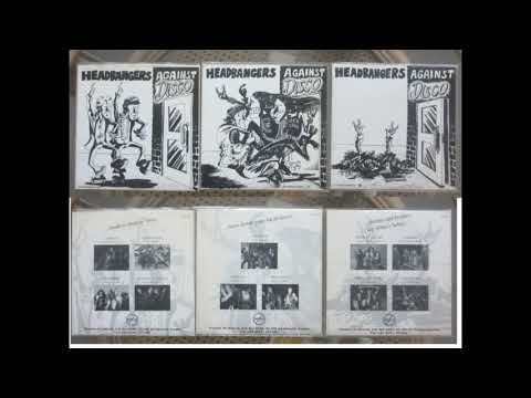 Various Artists .Headbangers against Disco.The 3 full EP's.1996-1997 (Killer Metal compilations) mp3