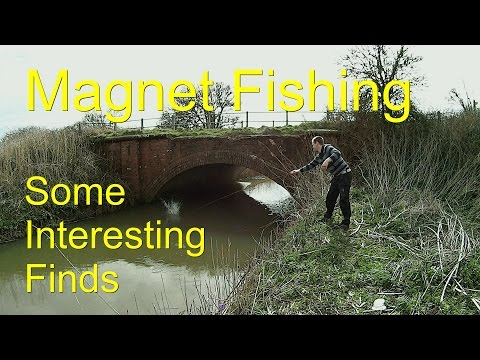 Magnet Fishing best finds from the river.