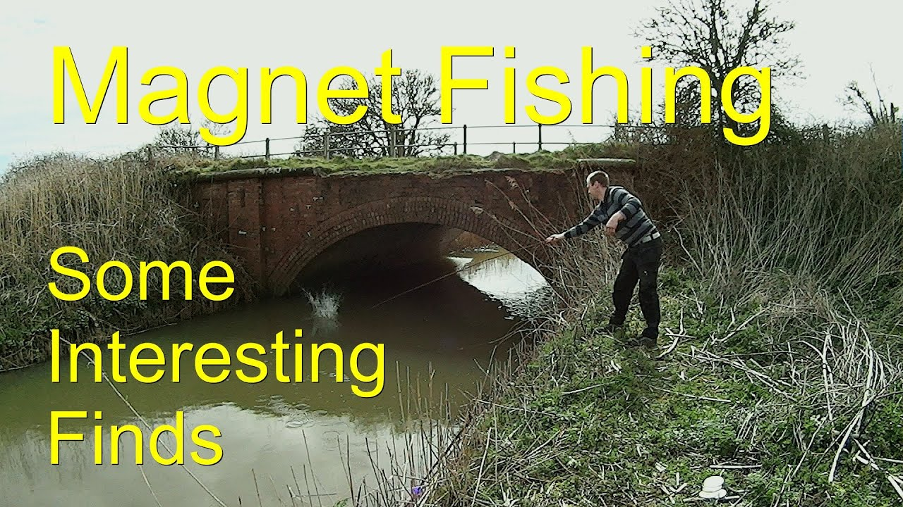 Magnet Fishing best finds from the river. - YouTube