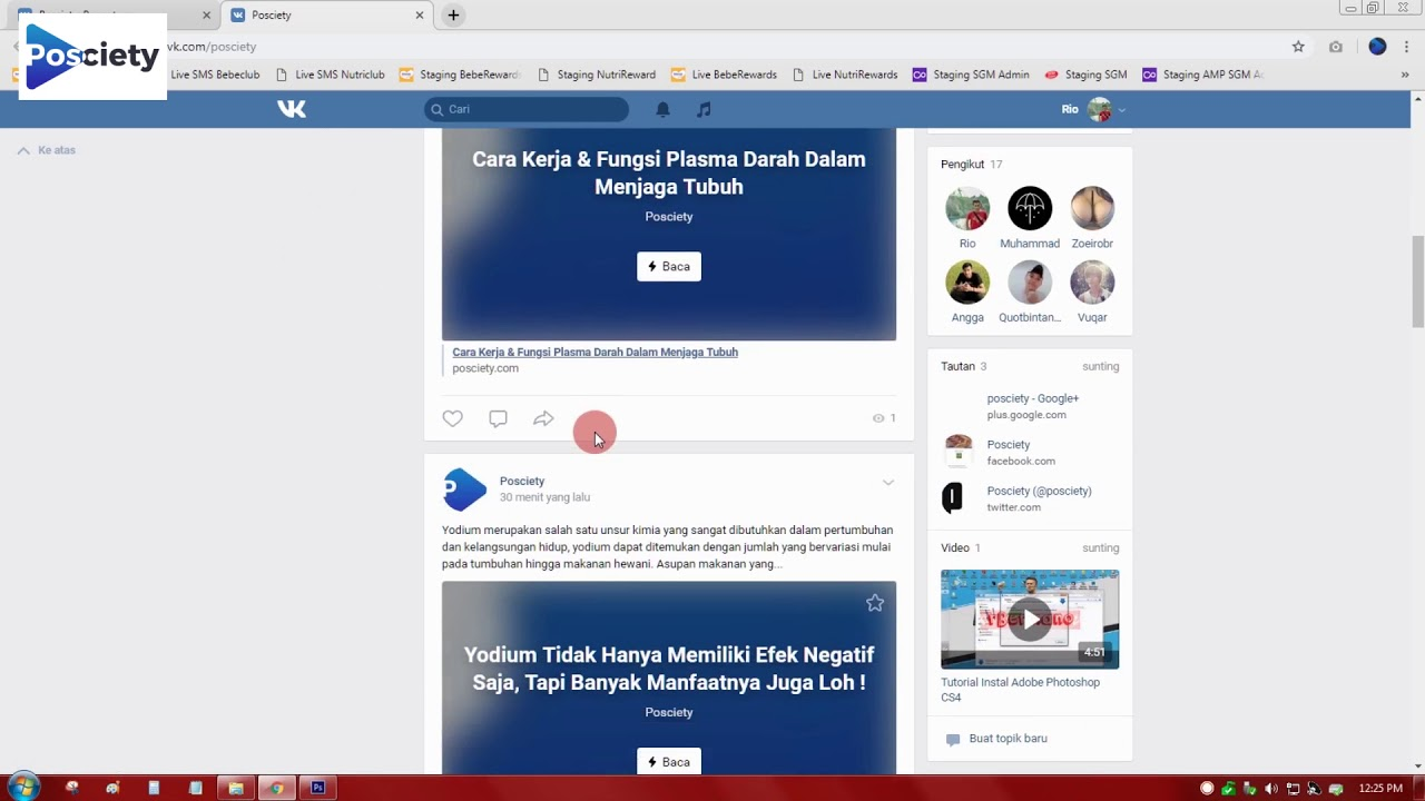 How To Use VK Rss Feed, Auto Share Blog Post to VKontakte Community / Page