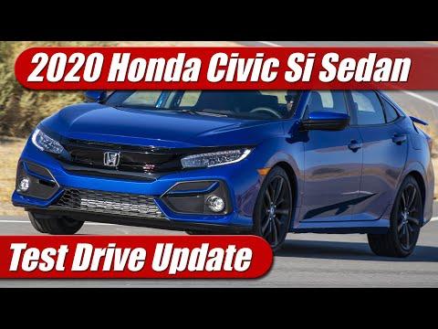 2020 Honda Civic Si Sedan: Test Drive Update