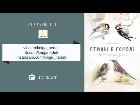 Подкаст Книга недели - Птицы в городе. Где найти и как узнать. Анна Васильева