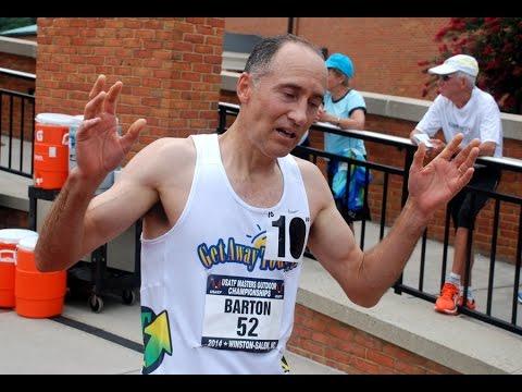 Brad Barton oldest to run near 4-minute 1500