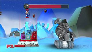Slam Bolt Scrappers: Boss Fight Gameplay