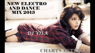 NEW ELECTRO DANCE MIX BEST OF 2013 - (DJ VISA)