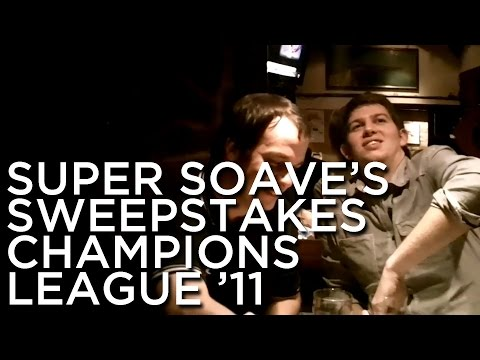 2011-01-27 'Super Soave's Sweepstakes: Champions League 2011'
