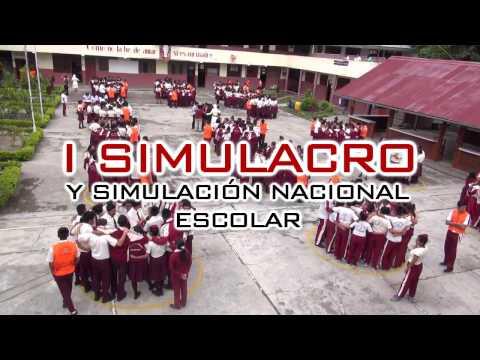 SPOT I SIMULACRO Y SIMULACIÓN NACIONAL ESCOLAR 2017.