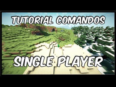 Minecraft - Comandos SinglePlayer - Tutorial