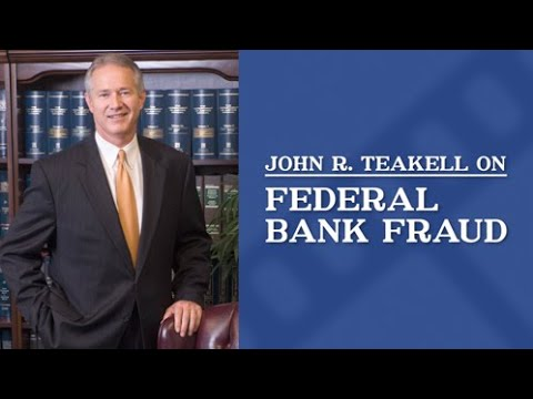 What are the elements of a federal bank fraud crime?