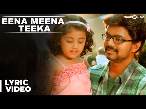 Eena Meena Teeka Song with Lyrics | Theri | Vijay, Samantha, Amy Jackson | Atlee | G.Vh Kumar