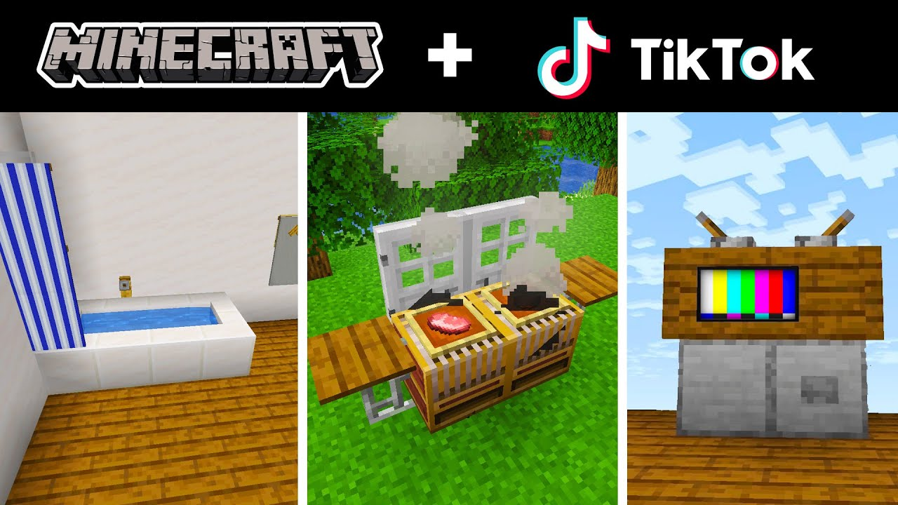 Minecraft Tik Tok Compilation 15