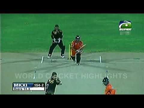 Moin Khan Academy XI Vs DHA Sports Club XI (HIGHLIGHTS) 7th Corporate T20 Cup 2019