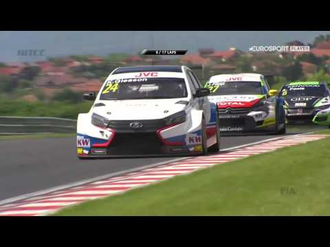 WTCC 2017 Hungary race 2 full race, main race, Hungaroring complete
