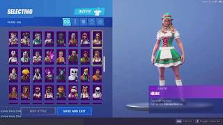 [VEND] counts fortnite rare skin '200 skin'
