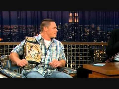 "John Cena on ""Late Night with Conan O'Brien"" - 10/10/06"