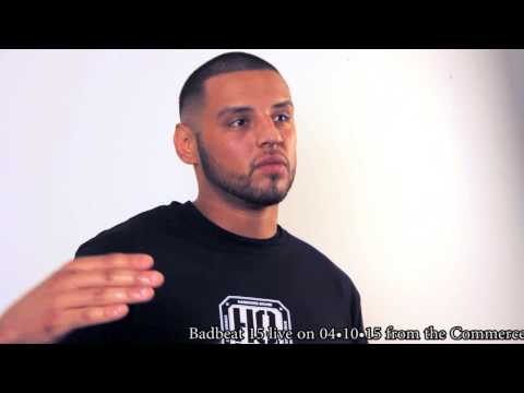Daniel Rodriguez Badbeat 15 Pre Fight Interview