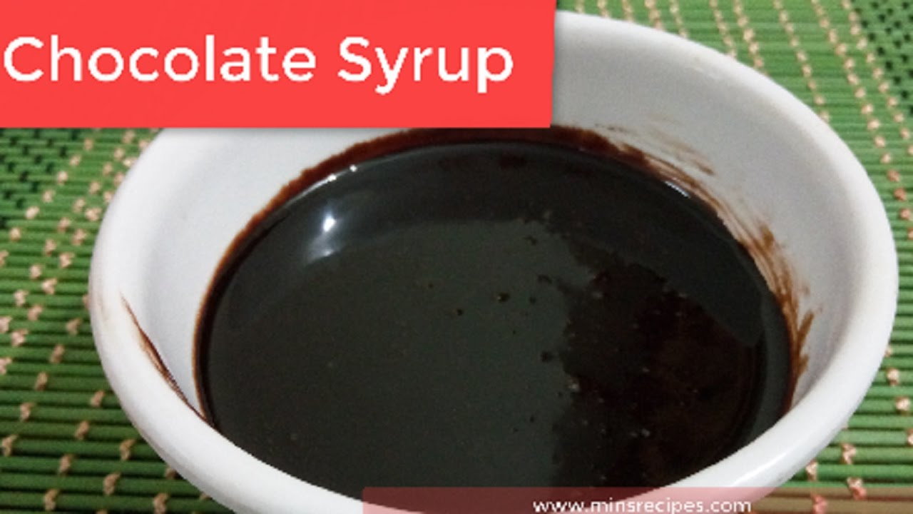 Chocolate Syrup Recipe in Hindi | चॉकलेट सिरप | Homemade ...