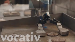 This Robot Is Flipping Burgers
