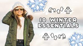 10 Winter Wardrobe Essentials | Winter Fashion Basics Everyone Needs | Miss Louie