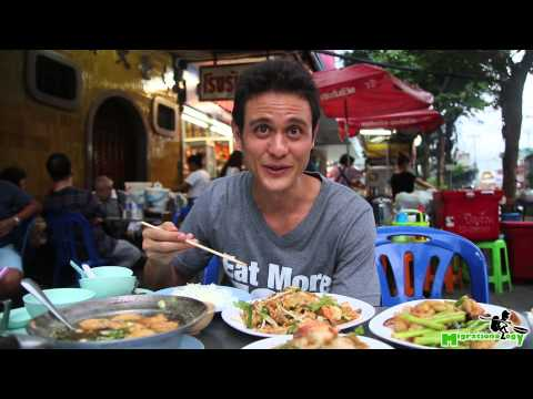 Chinese Seafood Street Food at Ah Ou Bangrak (ร้านอาอู๋ บางรัก) in Bangkok
