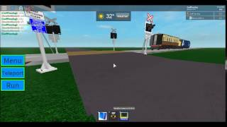 ROBLOX | DRS Pulling a mk1 coach passes Wardsey LC