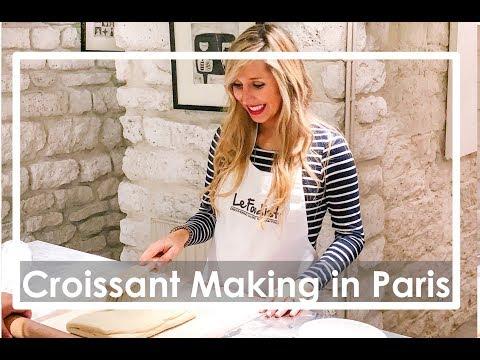 Croissant Making Class in Paris
