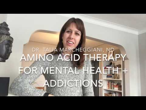 Amino Acid Therapy for Mental Health + Addictions