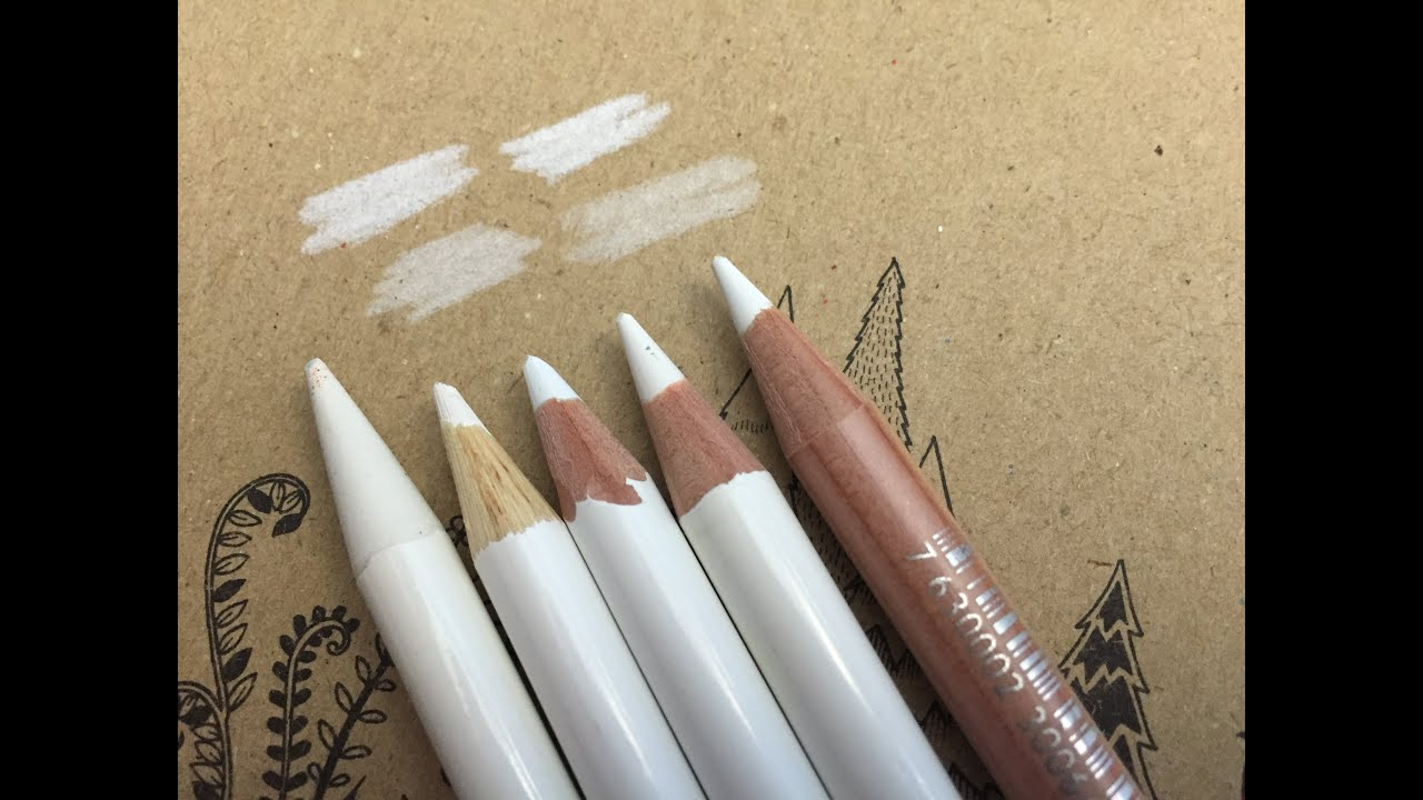 White Pencil For Sketching