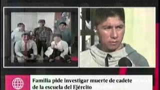 4 AMERICA FAMILIA PIDE INVESTIGAR MUERTE DE CADETE