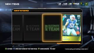 TEAM OF THE YEAR PACKS ARE THE ANSWERS TO YOUR PROBLEMS - Madden 15 Ultimate Team