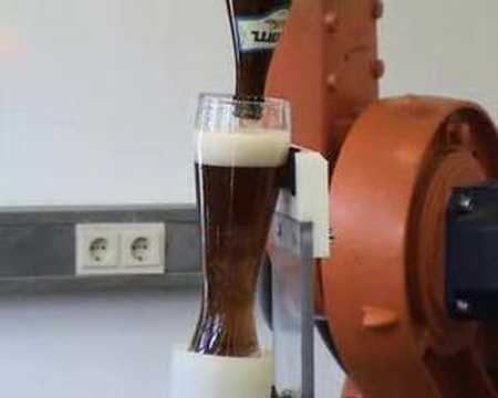 Robots Poor A Damn Good Beer