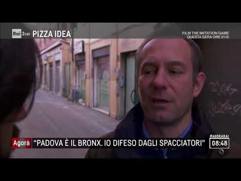 """Padova, """"qui è il Bronx, io difeso dagli spacciatori"""" - Agorà 07/12/2017"""