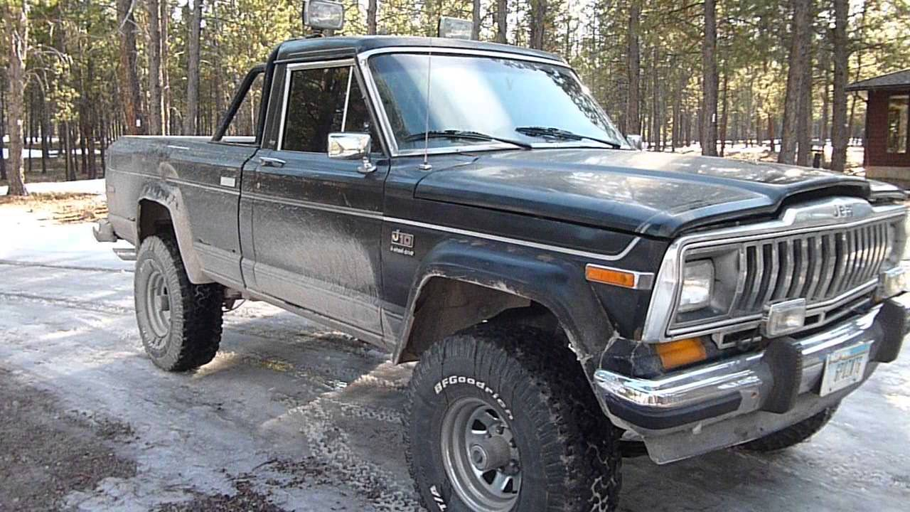 Jeep Wagoneer For Sale >> 1981 Jeep J10 Laredo New Exhaust Update - YouTube