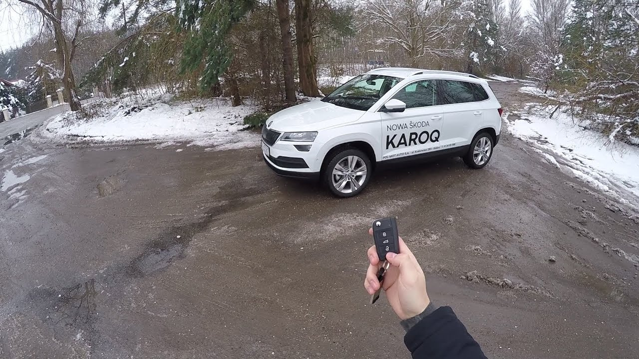 2017 skoda karoq 1 5 tsi 150 hp pov test drive youtube