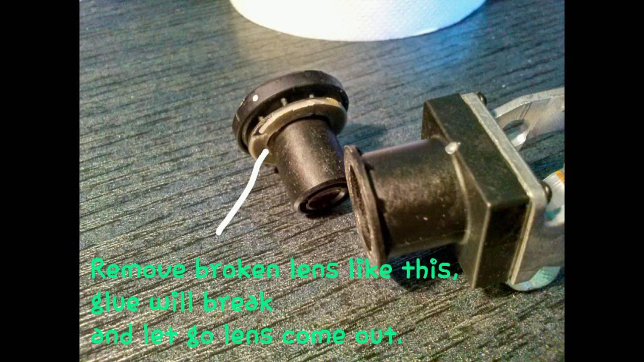 Replace Broken Parrot Bebop Lens With Cheap Gopro Lens Diy