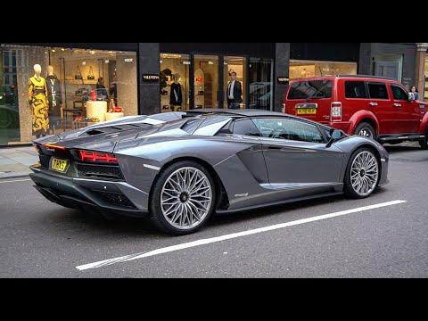 Lamborghini Aventador, Ferrari 458 Speciale, 812 Superfast, McLaren 570 - London
