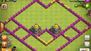 Clash of Clans - TH6 Farming Setup + A Fresh Start!