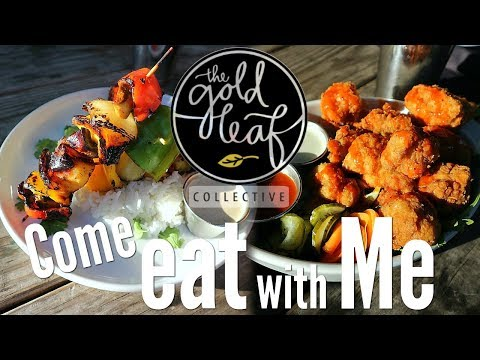 Come eat w/Me! | The Gold Leaf | Vegan | Fort Collins CO.