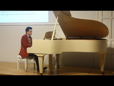 KİMSEYE ETMEM ŞİKAYET  Enstrümantal Fon Müziği Turing Konseri PİYANO RESİTALİ Klasik Türk Müziği