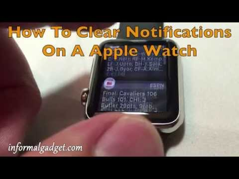 Deleting multiple messages from apple watch