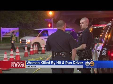 Woman Killed In Sylmar Hit-And-Run