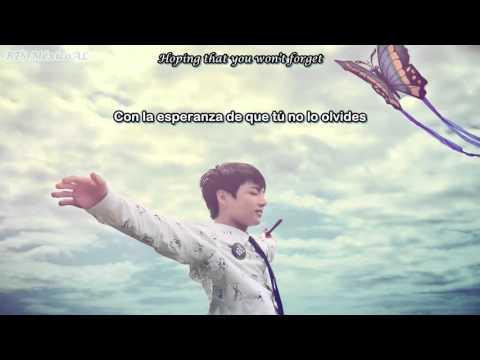 [Sub Esp + Lyrics] Jungkook (BTS) - Paper Hearts cover (sub español)