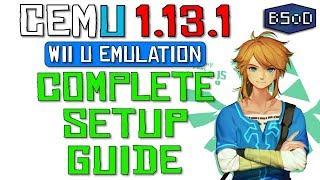 Cemu 1.13.1 | The Complete Setup Guide for Wii U Emulation Video