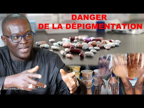 Extrait sur les dangers de la dépigmentation par le Pr BAMBA KANE