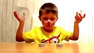 Свойства воздуха и огня. Эксперименты для детей.