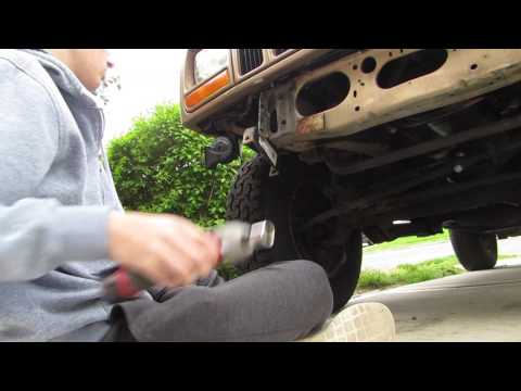 Project XJ part 3 (Painting the front bumper)