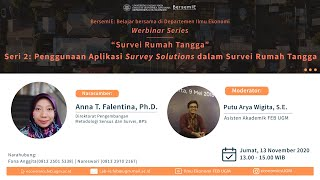 Download Lagu BersemIE – Survei Rumah Tangga Seri 2: Penggunaan Aplikasi Survei Solutions dalam Survei RT mp3