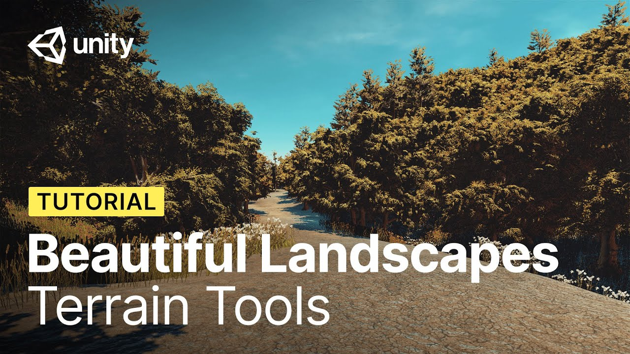 How to Build Beautiful Landscapes in Unity using Terrain Tools   Tutorial
